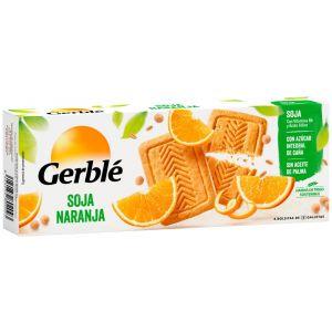 Galletas soja naranja gerble 290g
