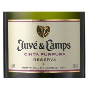 Cava reserva juve y camps cinta purpura botella de 75cl