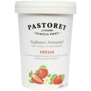 Yogur artesano fresas pastoret 500g