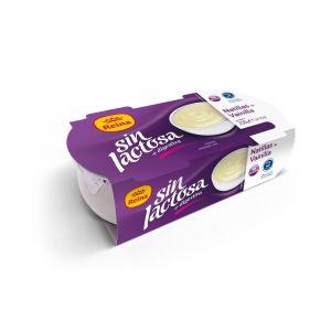 Natillas sin lactosa vainilla reina p2x125g