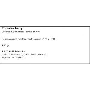 Tomate cherry   bdja 250g aprox