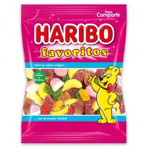 Gominolas favoritos azucar  haribo  150g