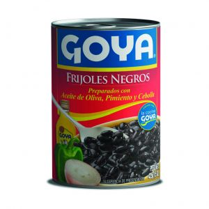 Frijoles negro goya lata 425g