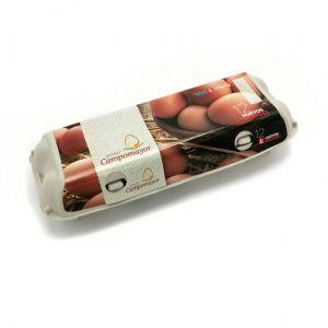 Huevos frescos clase l  giralda  12ud