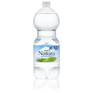 Agua mineral  font natura pet 1,5l