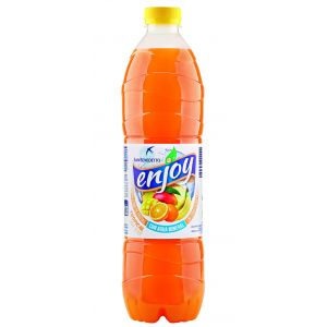 Refresco s/gas12%zumo tropical enjoy pet 1,5l