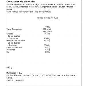 Corazon  integral el guijo  450g
