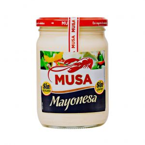 Mayonesa musa tarro 450ml