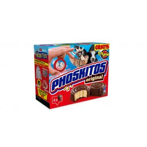 Bizcocho  original chocolate phoskitos  p4x160g