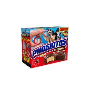 Bizcocho  original chocolate phoskitos  p4x160g