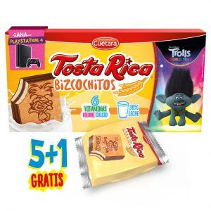 Bizcochitos   tosta rica  p5x125g