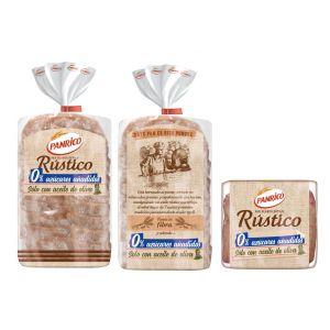 Pan molde rustico  cerealia  375g