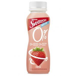 Yogur liquido fresa sveltesse 0% 180gr