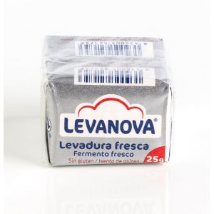 Levadura fresca levanova p2x25g