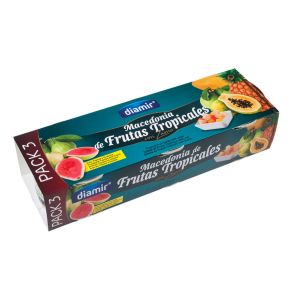 Macedornia de fruta tropical diamir 915g p3x420g ne