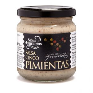 Salsa 5 pimienta la asturiana tarro 190g
