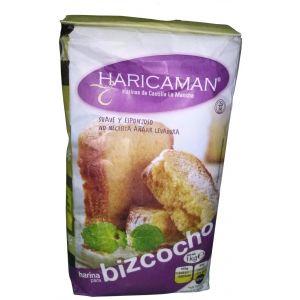 Harina para bizcochos  haricamar bolsa 1k