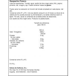 Gazpacho natural garcia millan 1l