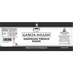 Gazpacho natural suave garcia millan pet 1l