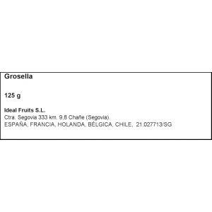 Grosellas tarrina 125gr