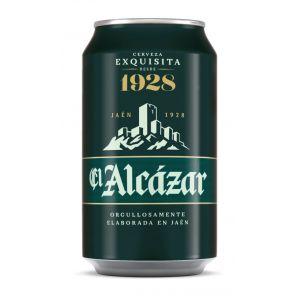 Cerveza el alcazar lata 33cl