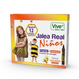 Jalea real niños propolis viveplus 12 viales 196gr