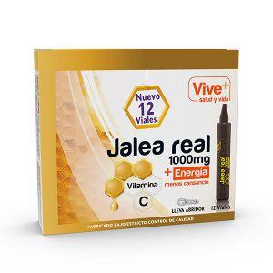Jalea real adultos vit c viveplus 12 viales 196gr