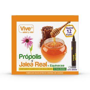 Propolis y jalea real esquinecea viveplus 12u
