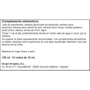 Alcachofa forte viveplus 12u