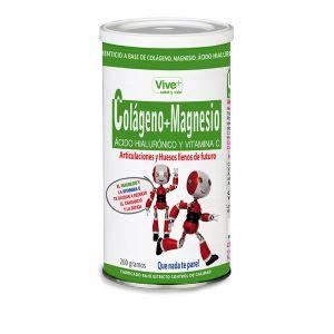 Lata colageno+magnesio y acido hial viveplus 200g