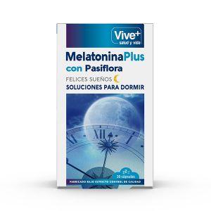 Melatoninacion pasiflora viveplus 30u