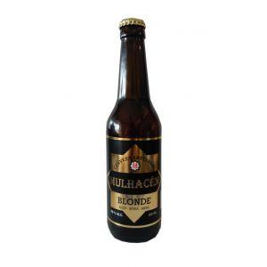 Cerveza artesanal blonde mulhacén botella 33cl