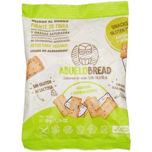 Tostitas aceituna y oregano abuelo bread 50gr