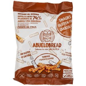 Snacks de chocolate sin gluten abuelo bread 50 gr