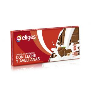 Chocolate con leche avellana ifa eliges  150g