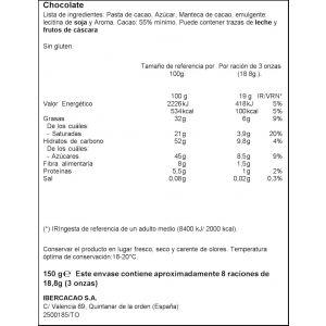 Chocolate fondant extrafino  ifa eliges  150g