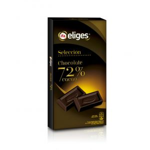 Chocolate negro 72% ifa eliges  100g