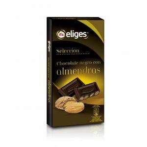 Chocolate negro con almendras ifa eliges  200g