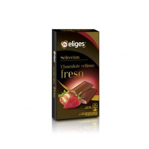 Chocolate relleno extrafino fresa ifa eliges  100g