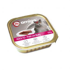 Comida gato mixto buey/pato ifa amigo 100g
