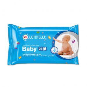 Toallitas húmedas baby ifa unnia pack de 24 unidades