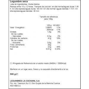 Alubia blanca ifa eliges 500 gr