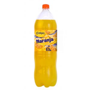 Refresco 8% zumo naranja ifa eliges pet 2l