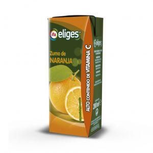 Zumo de naranja ifa eliges brik 1l