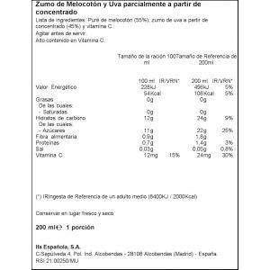Zumo de melocoton-uva ifa eliges p-620cl