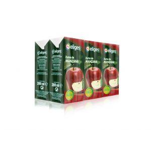 Zumo de manzana ifa eliges p-6 20cl