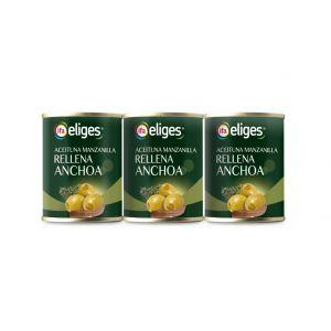 Aceituna rellena anchoa ifa eliges p3 unidades x 50gr