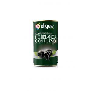 Aceituna negra con hueso ifa eliges lata 185g