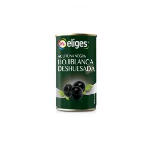 Aceituna negra sin hueso ifa eliges lata 150g