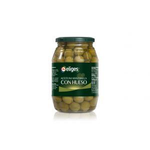 Aceituna manzanilla con hueso ifa eliges  500g